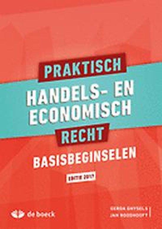 Praktisch handels en economisch recht