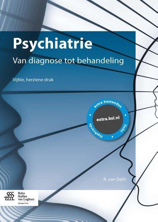 Psychiatrie van diagnose tot behandeling