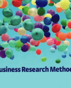 Samenvatting Business Research Methods