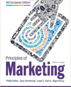 Principles of Marketing CH16 - POM IBS1 KDG