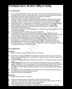 Cursus 9 Nederlands Samenvatting Literatuurgeschiedenis Economie