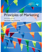 Principles of Marketing summary