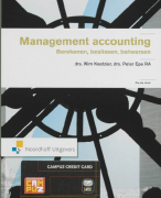 Samenvatting Management accounting