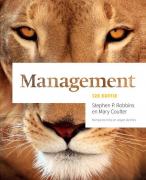 Management Stephen P. Robbins en Mary Coulter ( H7, 8, 9, 12, 13, 14 & 15 )