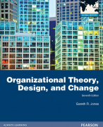 Summary Organization Theory, Design, and Change - Part I