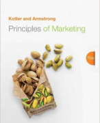 Principles of Marketing (15th edition) Samenvatting / Summary