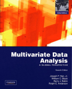 Rule of Thumb boxes from Multivariate Data Analysis