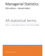 managerial statistic Statistics for business and economics  anderson, sweeney, williams, freeman and shoesmith  isbn-13: 978-1-84480-313-2 isbn-10: 1-84480-313-9 please email us with your comments on this book.